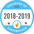 College of Distinction. 2018 - 2019